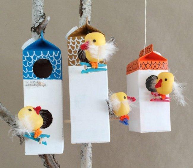 transform boxes bird house