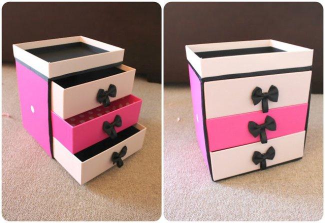 transform boxes make up storage drawers