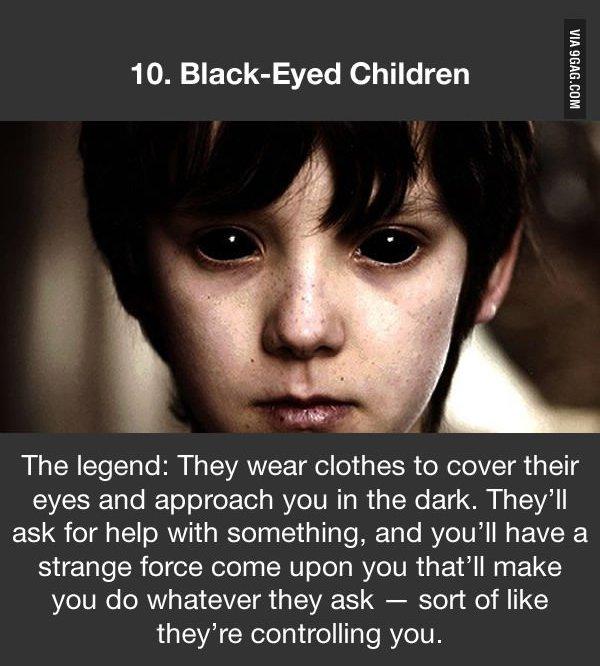 urban legends black eyed children