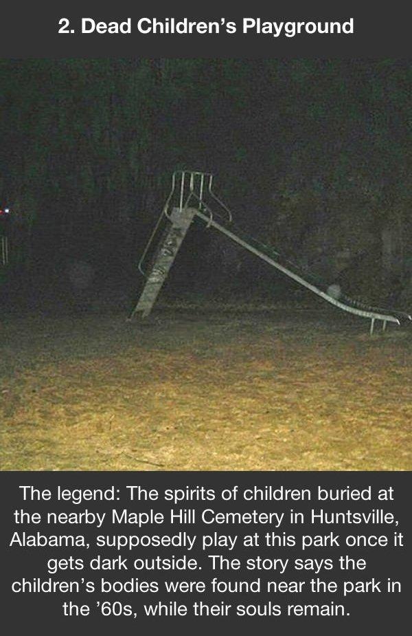 urban legends dead childrens playground