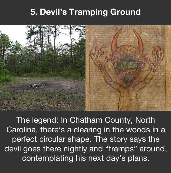 urban legends devils tramping ground