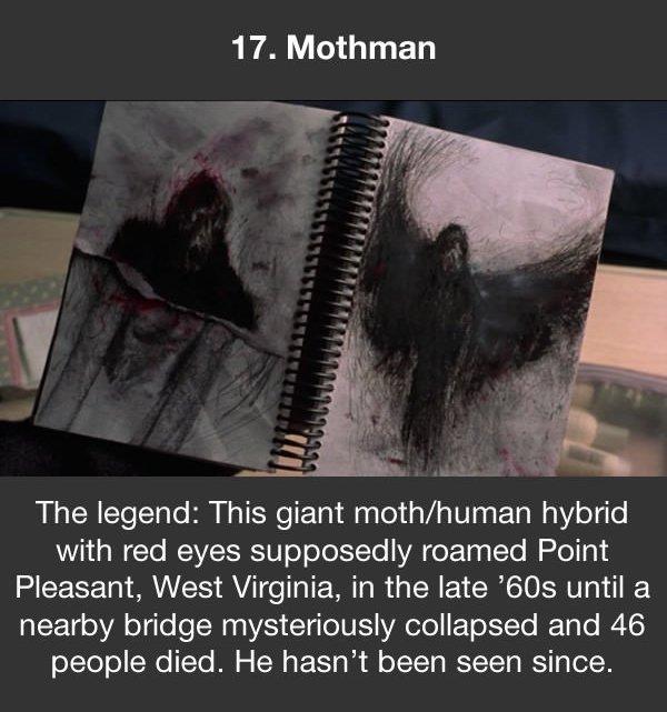 urban legends mothman