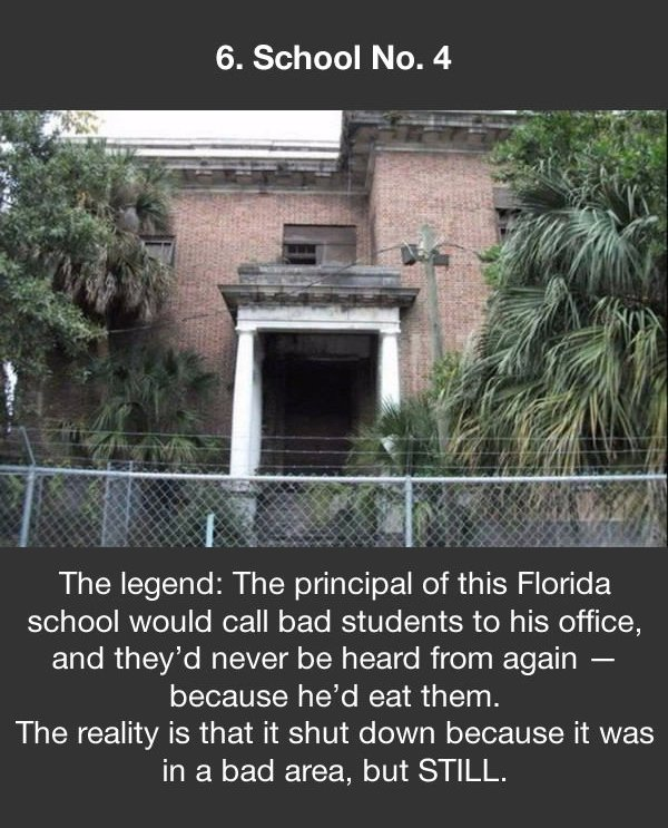 urban legends school no 4