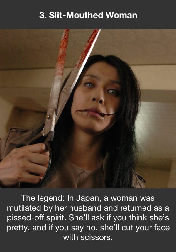 urban legends slit mouthed woman