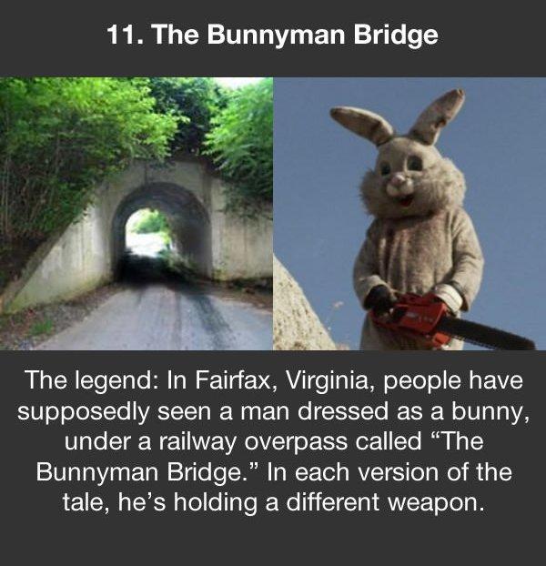 urban legends the bunnyman bridge