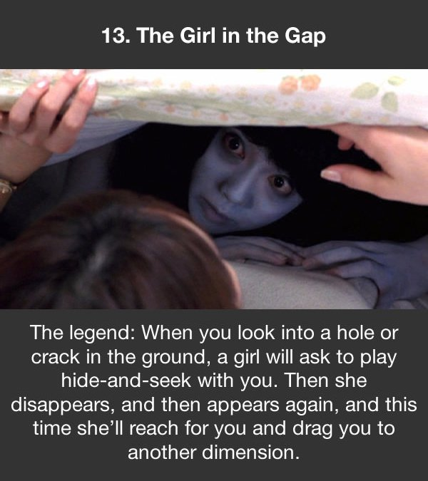 urban legends the girl in the gap