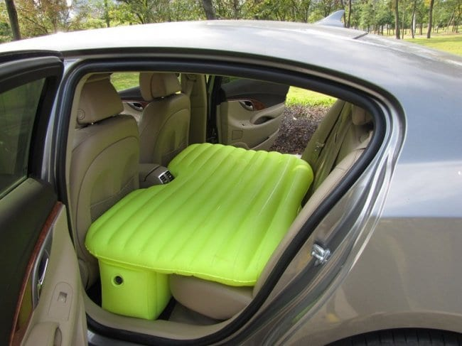 useful inventions back seat mattress