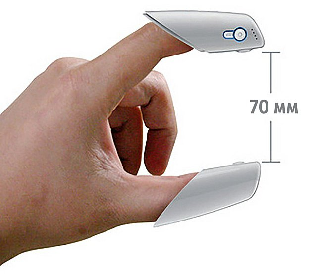 useful inventions device for measuring with fingers