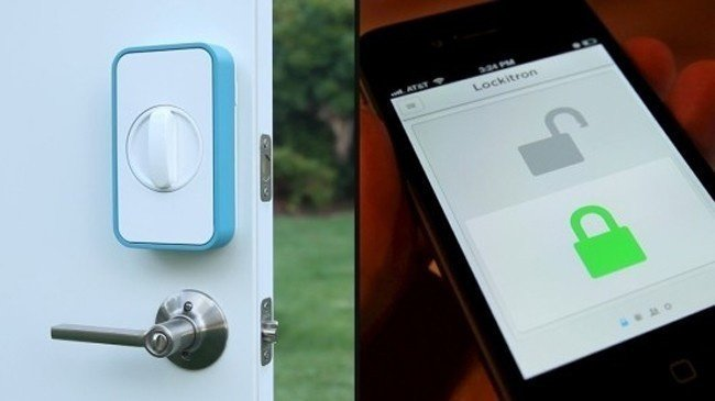useful inventions lockitron