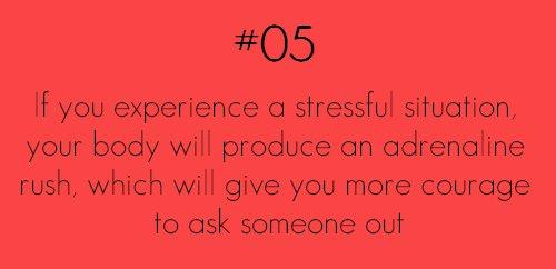 adrenaline rush stressful situation