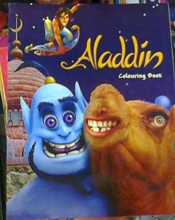 aladdin knock off