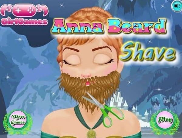 anna beard shave knock off
