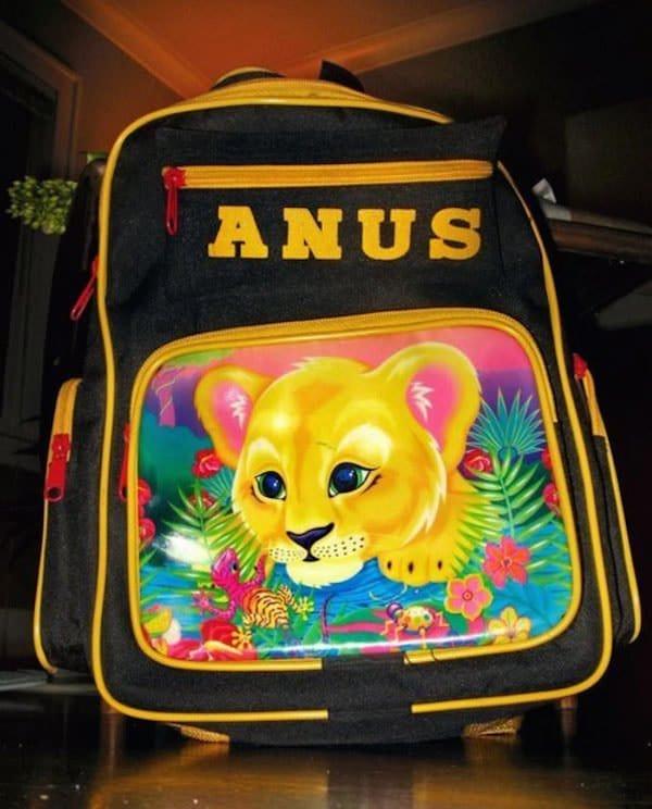anus knock off bag