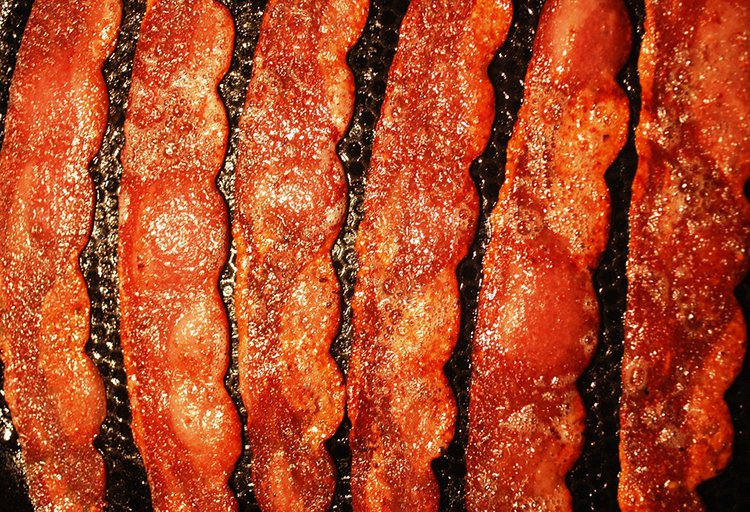 bacon cooking