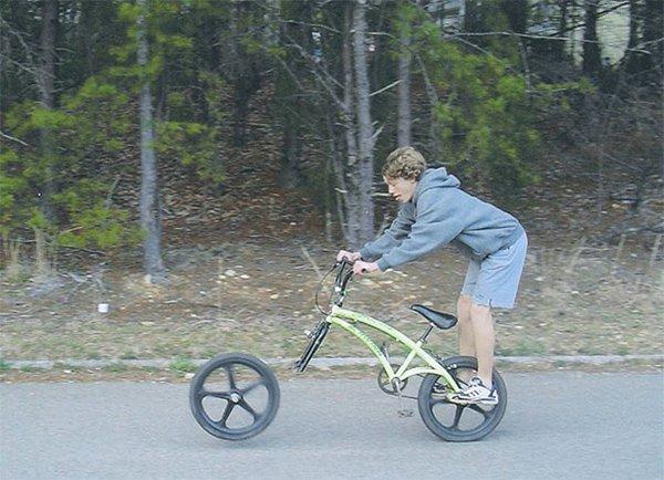 bike wheel coming off mid ride