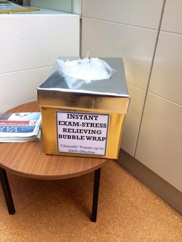 bubblewrap box