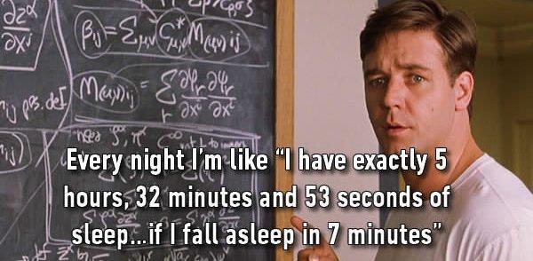 calculating sleep