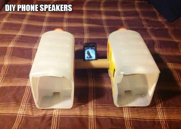 diy bottle speakers