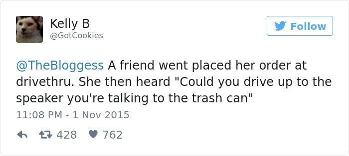 drivethru talking to trash can