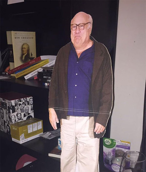 drunk purchases danny devito cut out