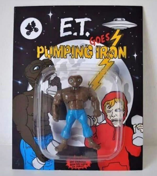 et pumping iron knock off