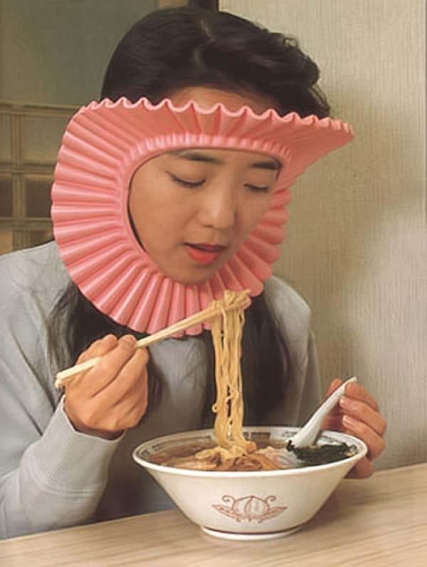 girl-face-attachment noodles japan