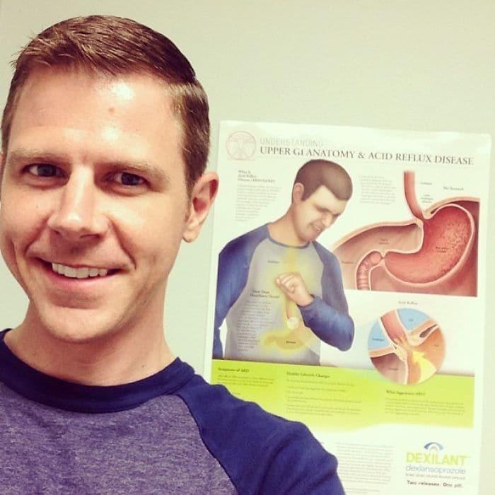 guy looks like doctors poster