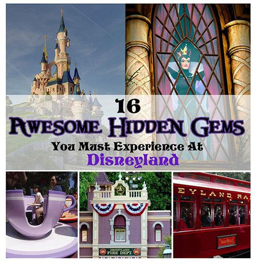 hidden gems disneyland