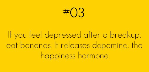 if you feel depressed eat bananas