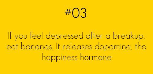 if you feel depressed eat bananas