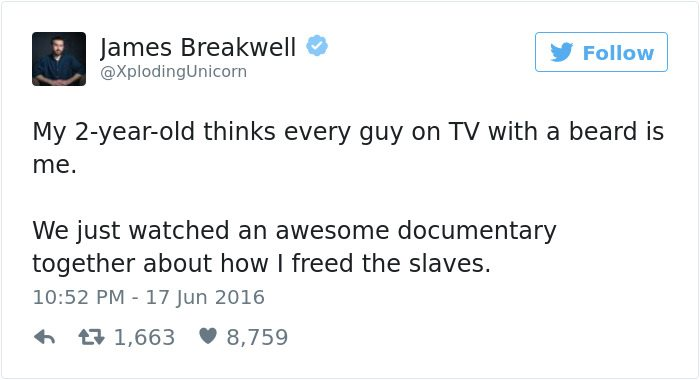 james breakwell tweets beard