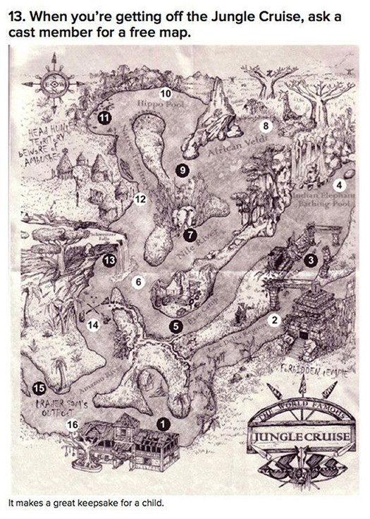 jungle cruise free map