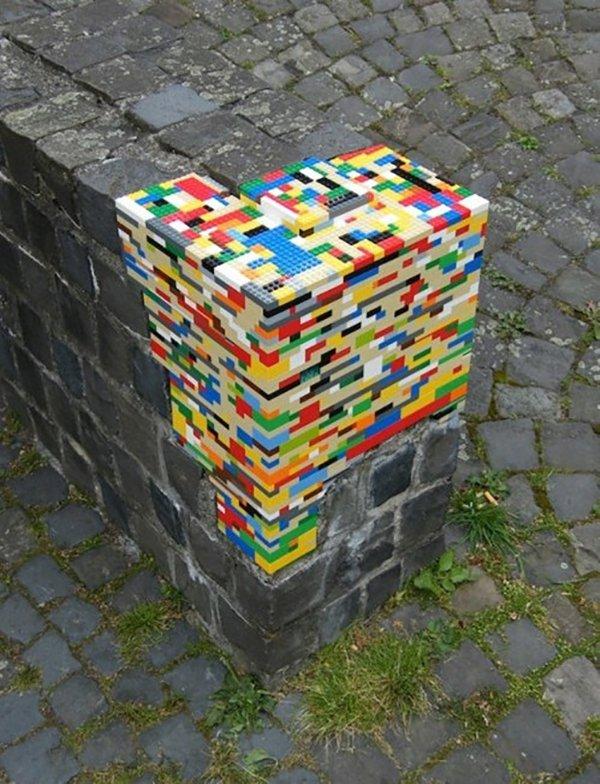 lego wall brick repair