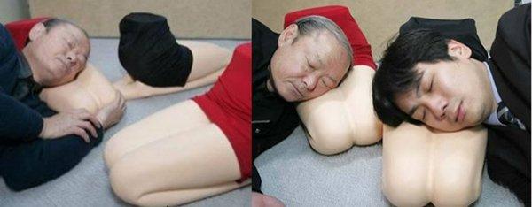 legs pillow