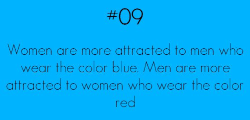 men attracted to red women attracted to blue