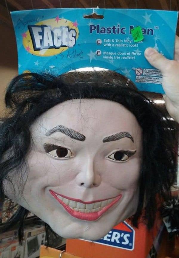 Michael Jackson Nose Fall Off