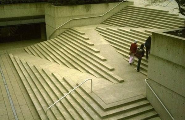 ramp stairs intergrated