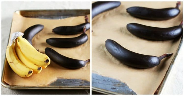 ripen bananas by baking