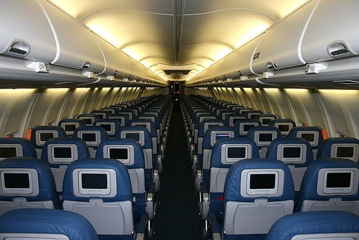 seating on plane