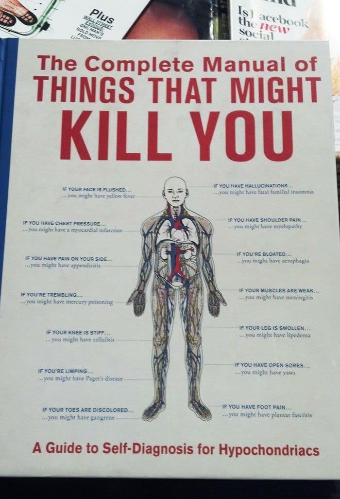 self diagnosis hypochondriac