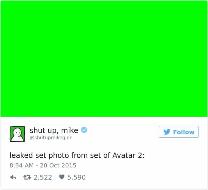 shut up mike tweet leaked avatar photo