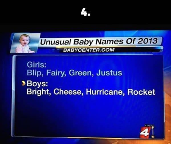 silly baby names cheese
