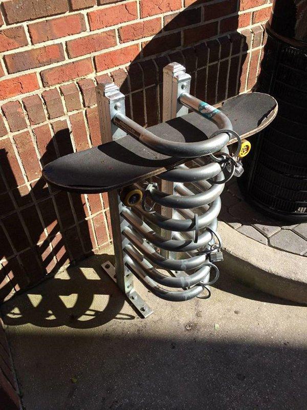 skateboard parking