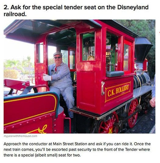 special tender seat disney railroad