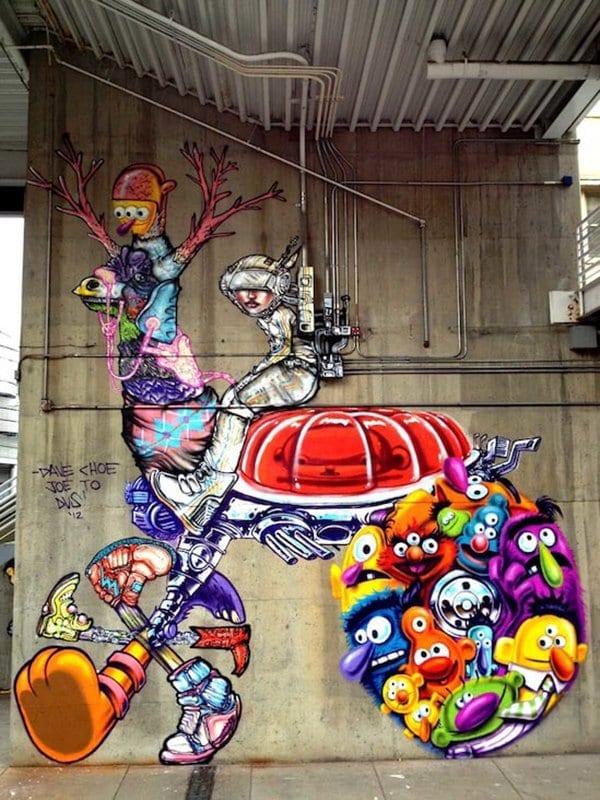 street art sesame street