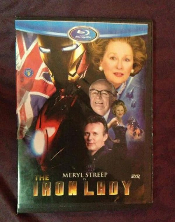 the iron lady knock off