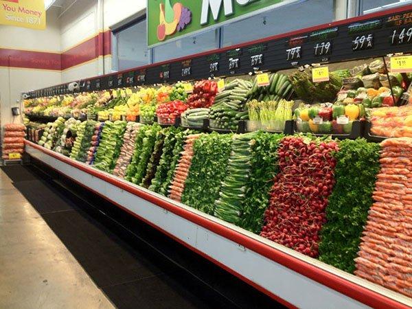 vegetable display perfection