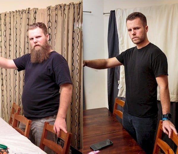weight loss transformation guy