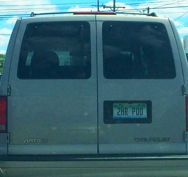 2 hour poo license plate Why Being Married Is The Best