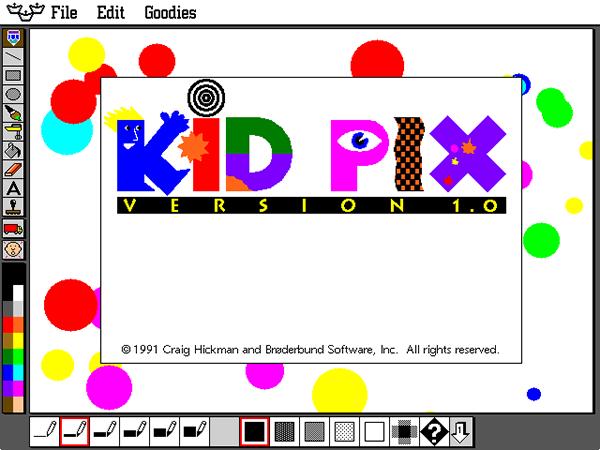 90s Nostalgia kid pix